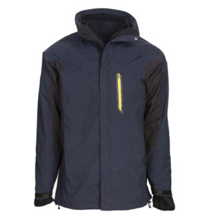 4 in 1 Rambo Techno Jacket, the ultimate practical winter jacket!
