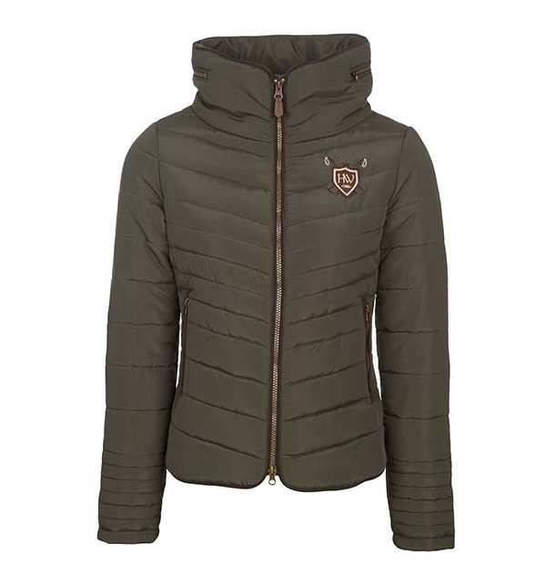Ladies Padded Jacket Forest Green - Horseware Ireland