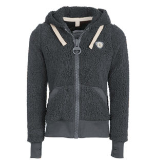 Super Fluffy Softie Pewter, with fun large zips - Horseware Ireland