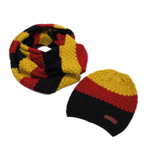 Sunflower Knitted Hat and Snood Set - Women Accessories - Horseware