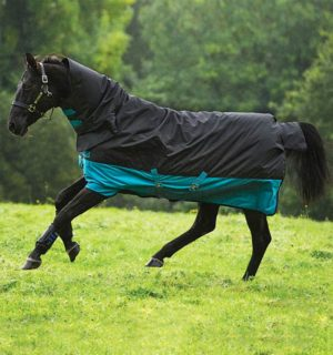 Mio All-In-One Turnout, breathable to point of dripstrip. - Horseware Ireland