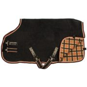 Rambo Deluxe Fleece - Black with Tan, Orange & Black