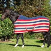 Rambo Deluxe Fleece - Whitney Stripe Cherry