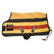 Rambo Deluxe Fleece - Whitney Stripe Gold
