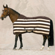 Rambo Deluxe Fleece - Whitney Stripe Chocolate