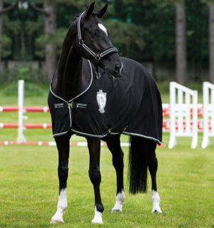 Rambo Diamante Cooler, For the ultimate show stopping look. - Horseware