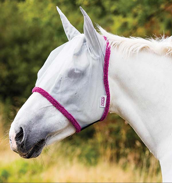 Amigo Fine Mesh Fly Mask with Ears - Horseware Ireland