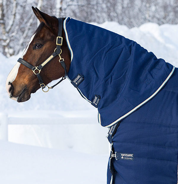 Rambo Optimo Stable Rug Hood 200g - Horseware Ireland