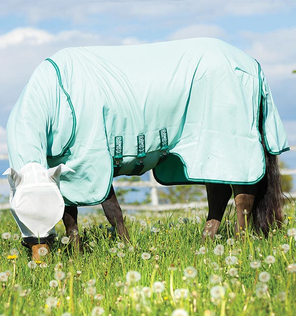 Rambo Hoody With Free Fly Mask Rugs For Horses And Ponies