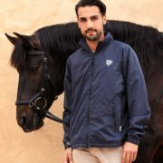 Technical Barra Lightweight Jacket Dark Navy