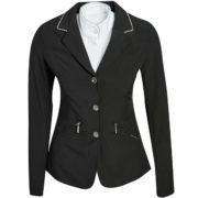 Embellished Ladies Competition Jacket Black