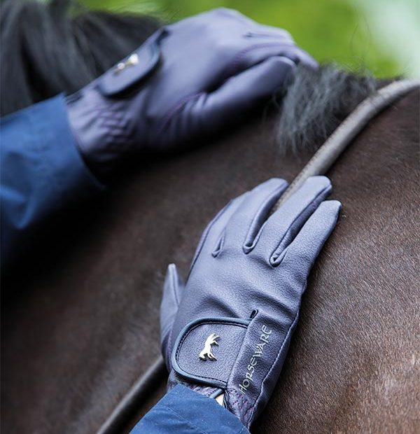 Heritage Glove - Rider Accessories - Navy