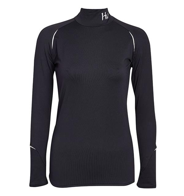 fd5a8661931075 Base Layer Long Sleeve Black - Competition Collection - Horseware
