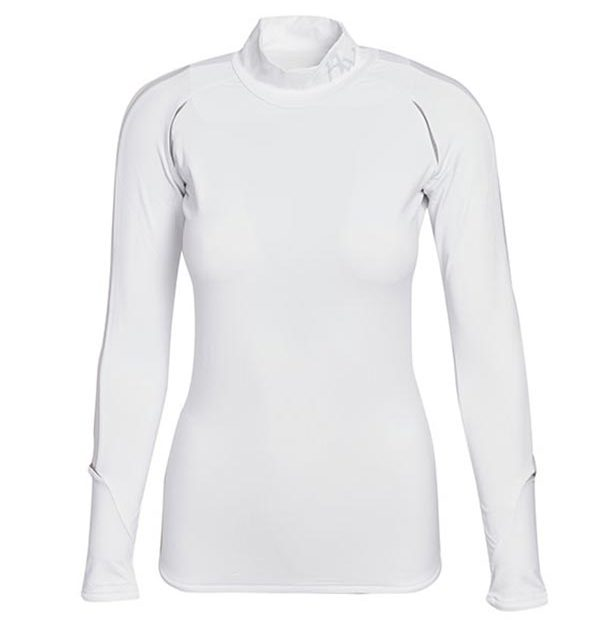 Base Layer Long Sleeve White
