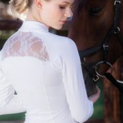 Sara Competition Shirt Long Sleeve White