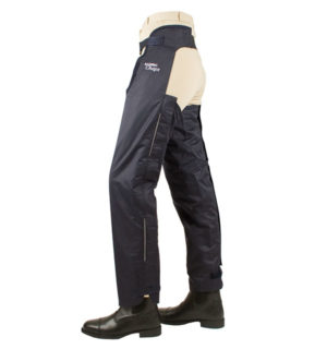 Full Leg Chaps Cotton Navy