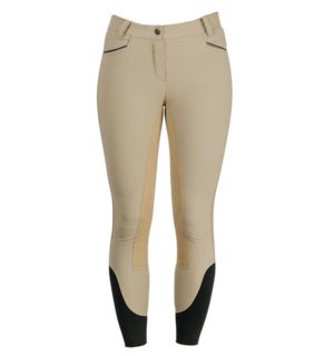 Ladies Woven Competition Beige