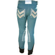 Kids Denim Breeches Brittany Blue