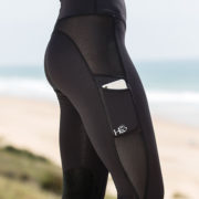 HW Riding Tights Black - Ladies Collection -