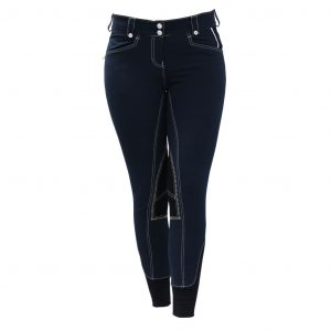 Adalie Ladies Breeches Navy - Polo Collection - Horseware Ireland