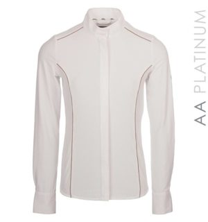 Ella Competition Shirt White