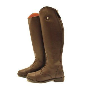 Horseware Riding Boot (with Laces) - Brown and Black -Horseware Ireland