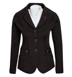 Ladies Horsewair Competition Jacket Black