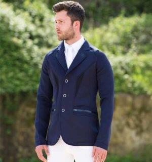Mens Horsewair Competition Jacket Navy