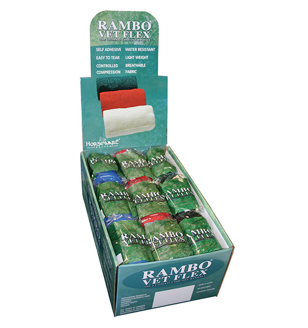 Rambo Vet Flex - 36 rolls as a pack of two - Horseware Ireland