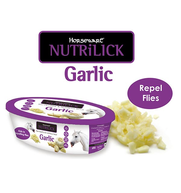 Horseware Nutrilick Garlic Health and Nutritious Treat for Horses