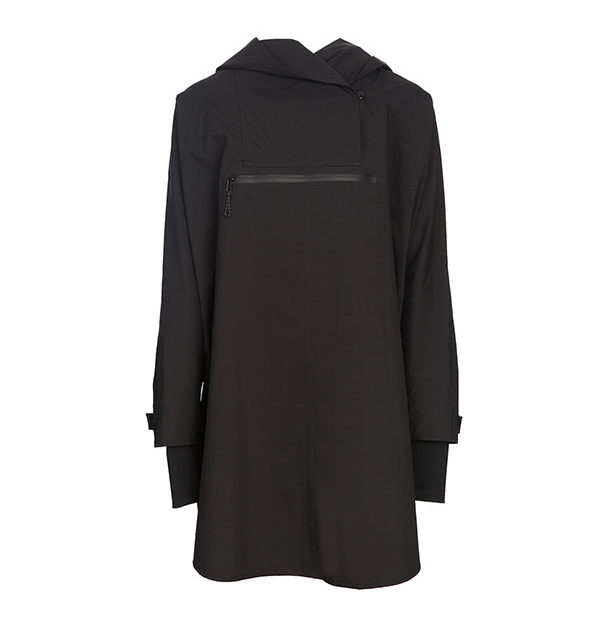 HWH20 Poncho Black One Size - HWH2O Collection - Horseware Ireland