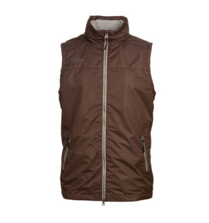 Corrib Gilet Chocolate - Classic Collection - Horseware Ireland