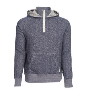 Melange Hoody Navy - Mens Tops - Horseware Ireland