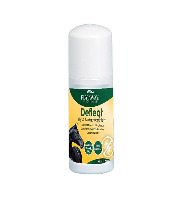 Defleqt Roll On 50ml - Fly Away - Horseware Ireland