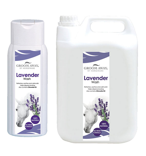 Lavender no Rinse Bodywash 500ml / 2.5l - Groom Away - Horseware