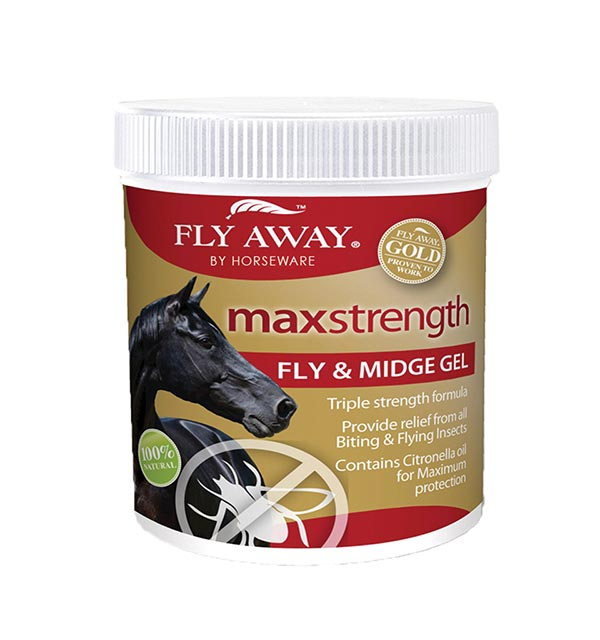 Max Strength FlyMidge Gel 500ml - Fly Away - Horseware Ireland