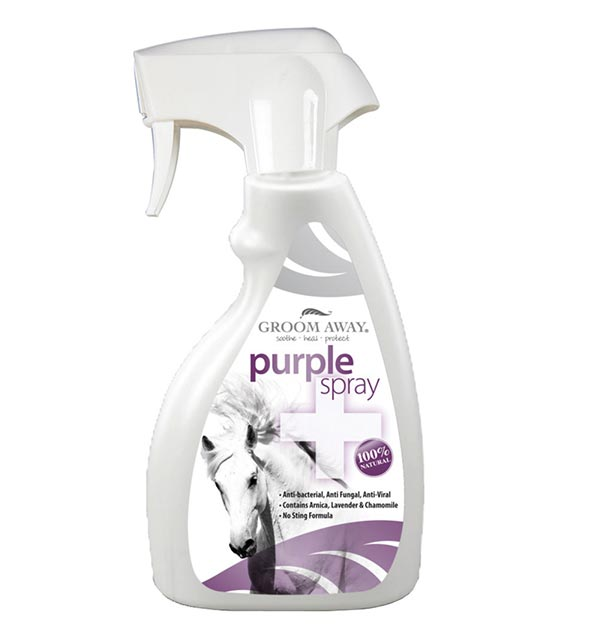 Purple Spray 250ml - Groom Away - Horseware Ireland