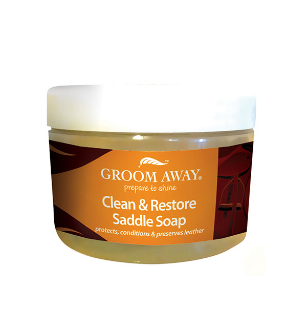 Clean & Restore Saddle Soap 400g - Groom Away - Horseware Ireland