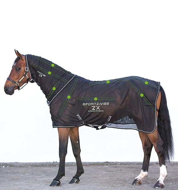 Sportz-Vibe ZX Horse Rug - The Wireless Version - Massage