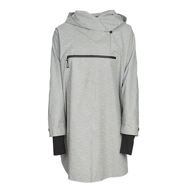 WH2O Poncho Grey Print - HWH2O Collection