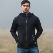 HWH20 Black Jacket - Multi fuctional Sporty Jacket - HWH2O Collection - Horseware Ireland