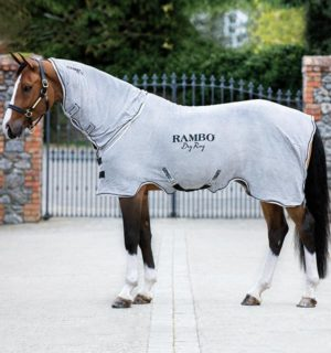 Rambo Dry Rug - Super fast drying for busy riders - Horseware Ireland