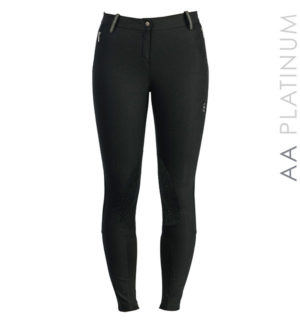 AA Letta Ladies K/P Breeches Black