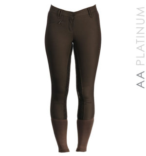 AA Summer Silicon Breeches Chocolate