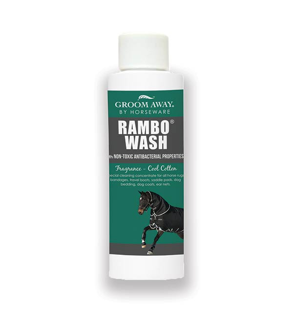 Rambo Wash 250ml Special Cleaning For Horses Rugs Horseware