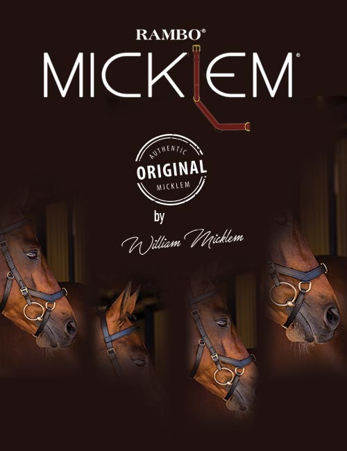 The Horseware Ireland Micklem® Bridle wins the Welfare and Performance Saddlery/Equipment Award.