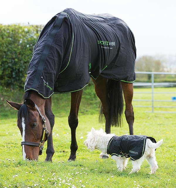 Sportz Vibe Dog Rug - Massage Therapy - Horseware Ireland