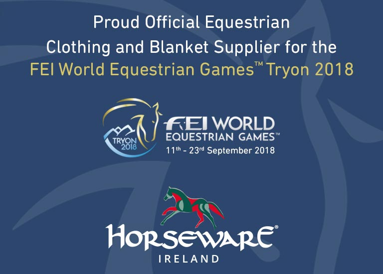 WEG - Proud Official Equestrian Clothing and Blanket Supplier for the FEI