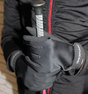Winter Rider Glove Black - Rider Accessories - Horseware Ireland