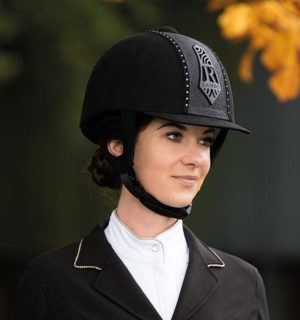 Rambo Diamanté Helmet - Rambo Helmet Collection - Horseware